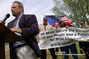 Hal Turner Speaks At KKK Rally Antietam MD June 10, 2006
