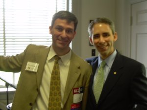 Republican Candidate Ken Cuccinelli and good friend Jeff Frederick