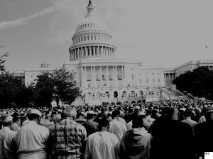 Muslim Day of Prayer on US Capitol Draws 50,000 People