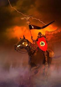 Neo-Nazis from Stormfront on their way to tea baggin in DC on 9/12