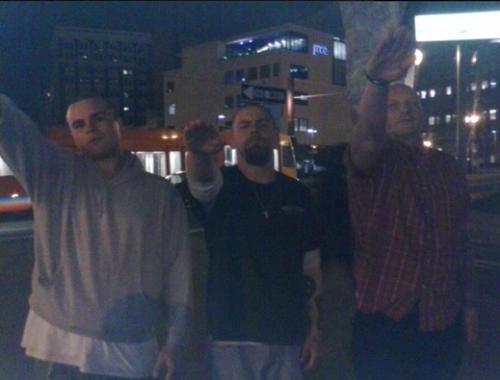 Left to right: Jojo Brittain, Christian Coats, Shawn Saunders