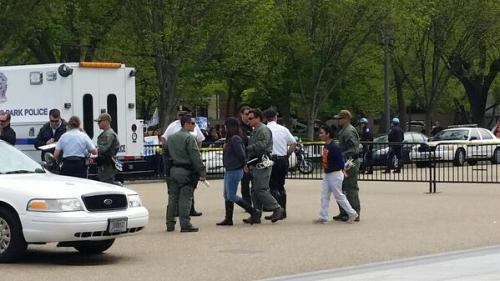 Arrests at the White House