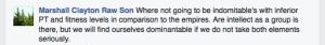 Rawson on Facebook