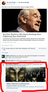 Other Million March Organizers show an unsettling connection to rightwing/racist Ron Paul