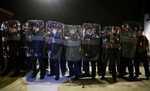 state troopers in riot gear